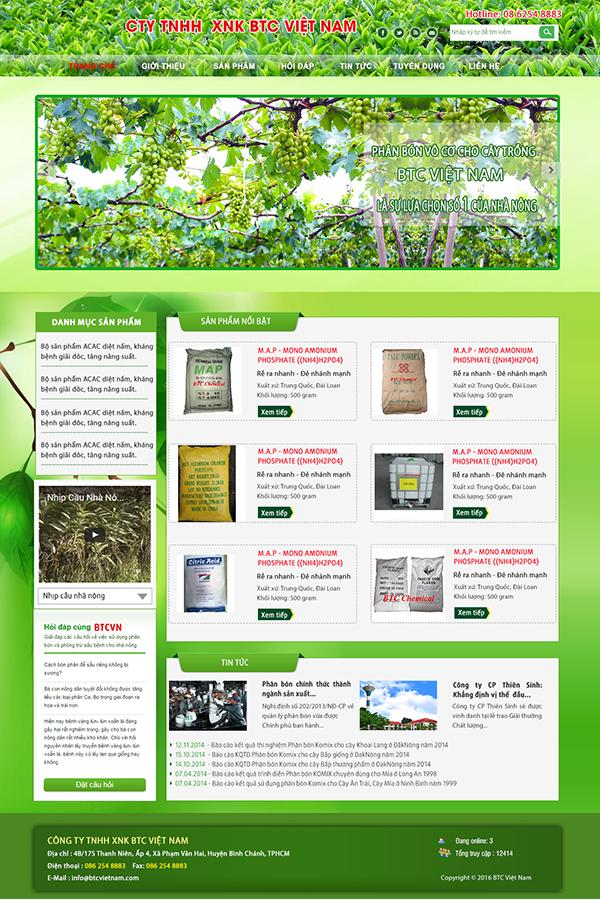 Web giới thiệu doanh nghiệp